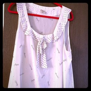 Minnie Mouse by LC tank blouse
